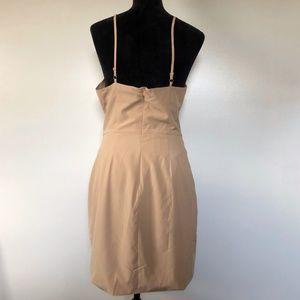 Bronx and Banco Dresses - Bronx and Banco Nude Midi Dress Spaghetti Strap 10